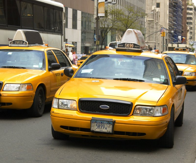 new york taxi. Black Bedroom Furniture Sets. Home Design Ideas