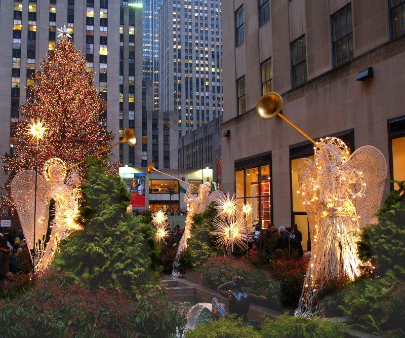 weihnachten 2011 in new york city feiern mit zahlreichen events. Black Bedroom Furniture Sets. Home Design Ideas