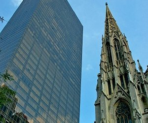 St. Patrick`s Cathedral in New York